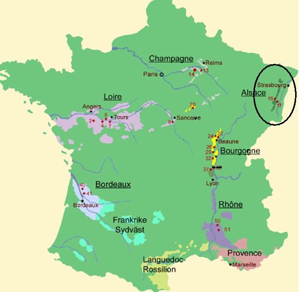 alsace karta Crémant d'Alsace Charles Wantz ‹ Apricot alsace karta